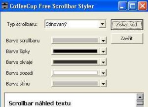 CoffeeCup Free Color Scrollbar Maker